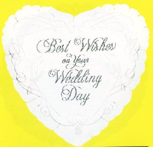 white heart-shaped balloon with wedding wishes and intricate designs ...